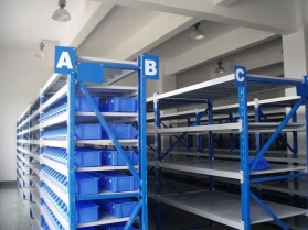 江西万佳保险设备有限公司仓储货架的操作