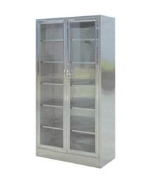 不锈钢双门器械柜