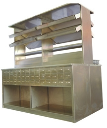 不锈钢中药柜